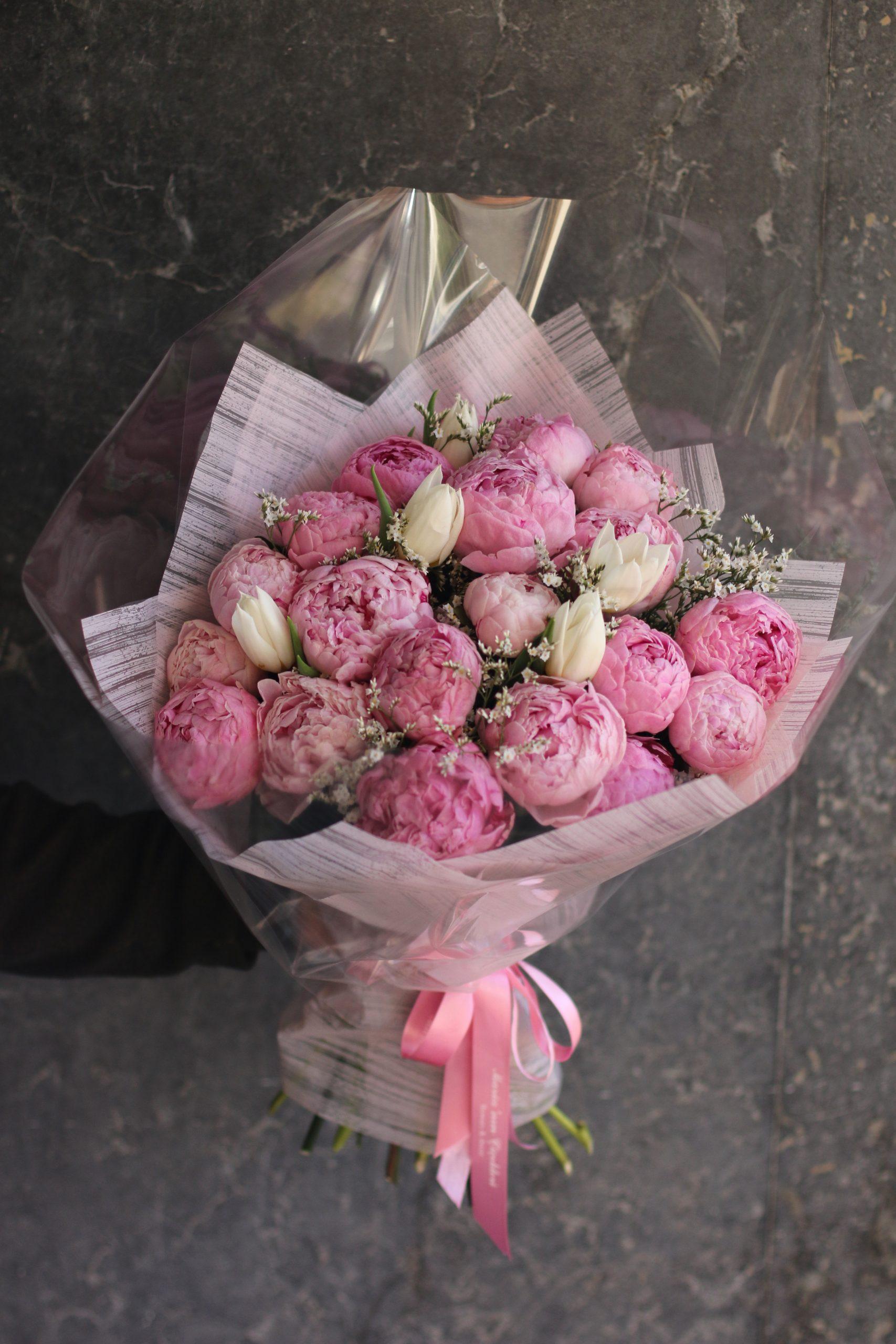 Buket Şakayık | Maria'nın Çiçekleri Online Sipariş İzmir